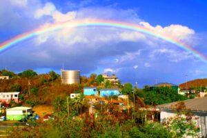 Rainbow over the St John Inn